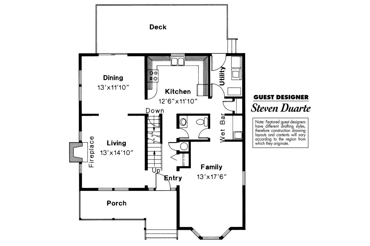 Victorian House Plan   Astoria 41 009   1st Floor Plan ... Ideas