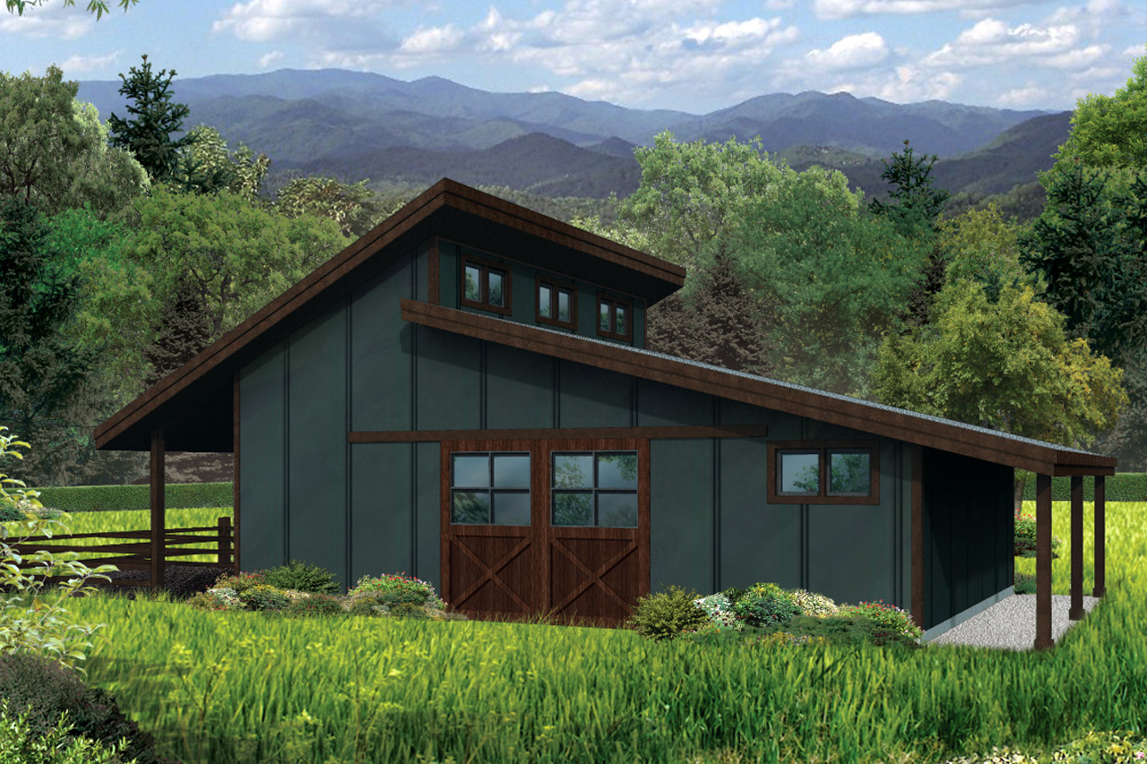 Country House Plans Barn 20 159 Associated Designs