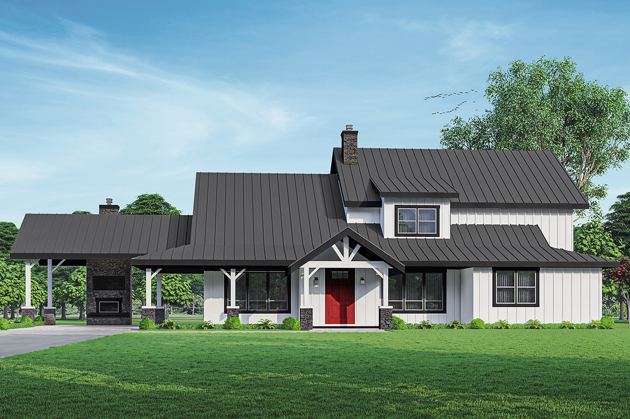 Wind River House Plan