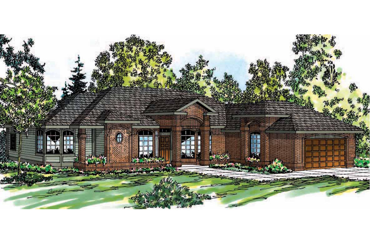 Ranch House Plans Jamison 10 081 Associated Designs