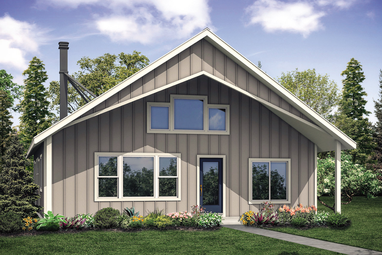 Vacation House Plan Hideaway 31-082