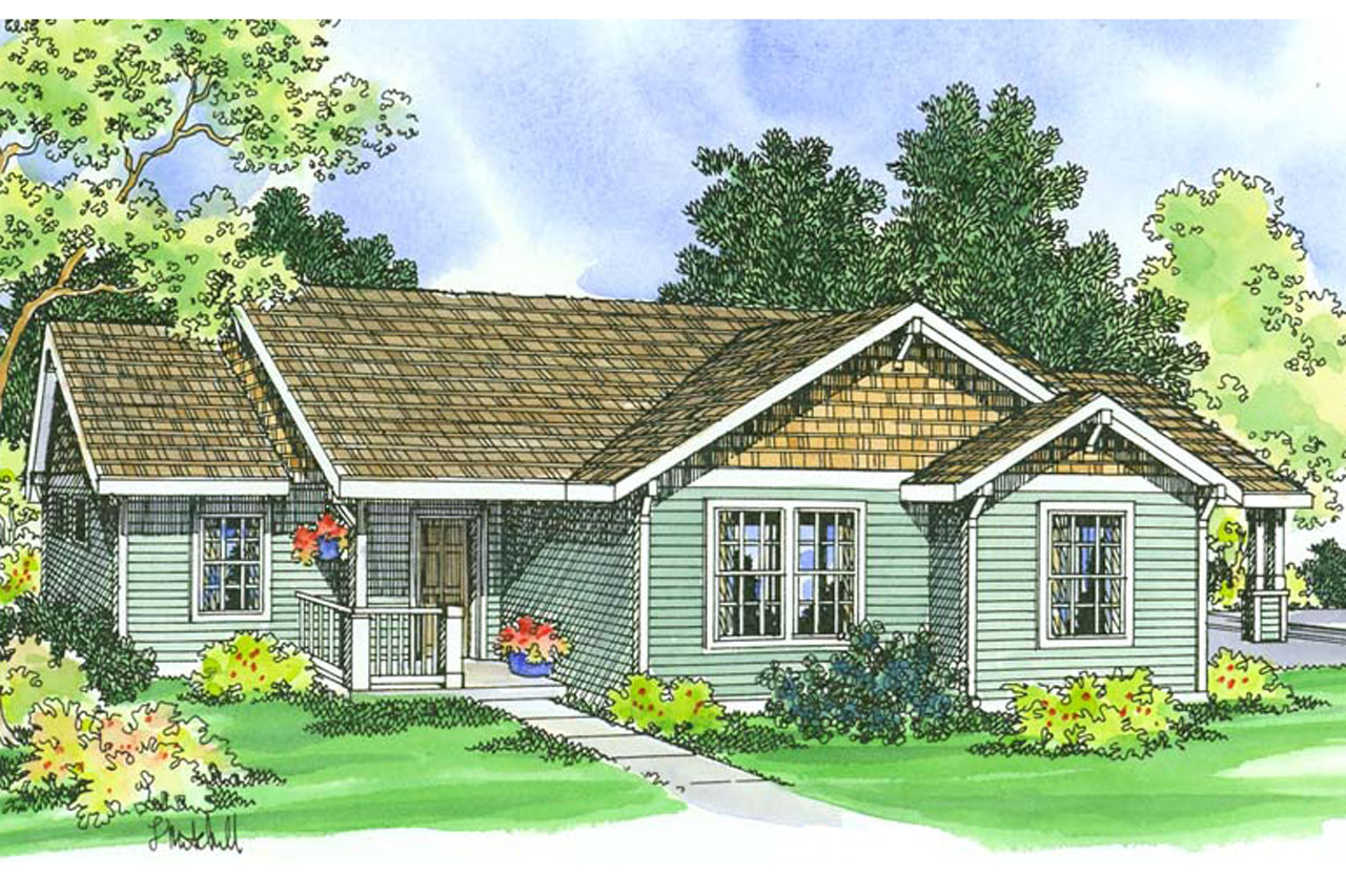 Traditional House Plans Mattson 30 195 Associated Designs