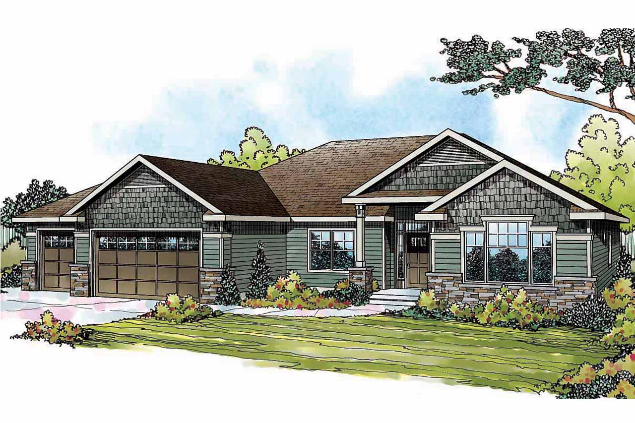 Floor Plans For Ranch Style Houses Traditional House Plans Springwood 30 772 Associated