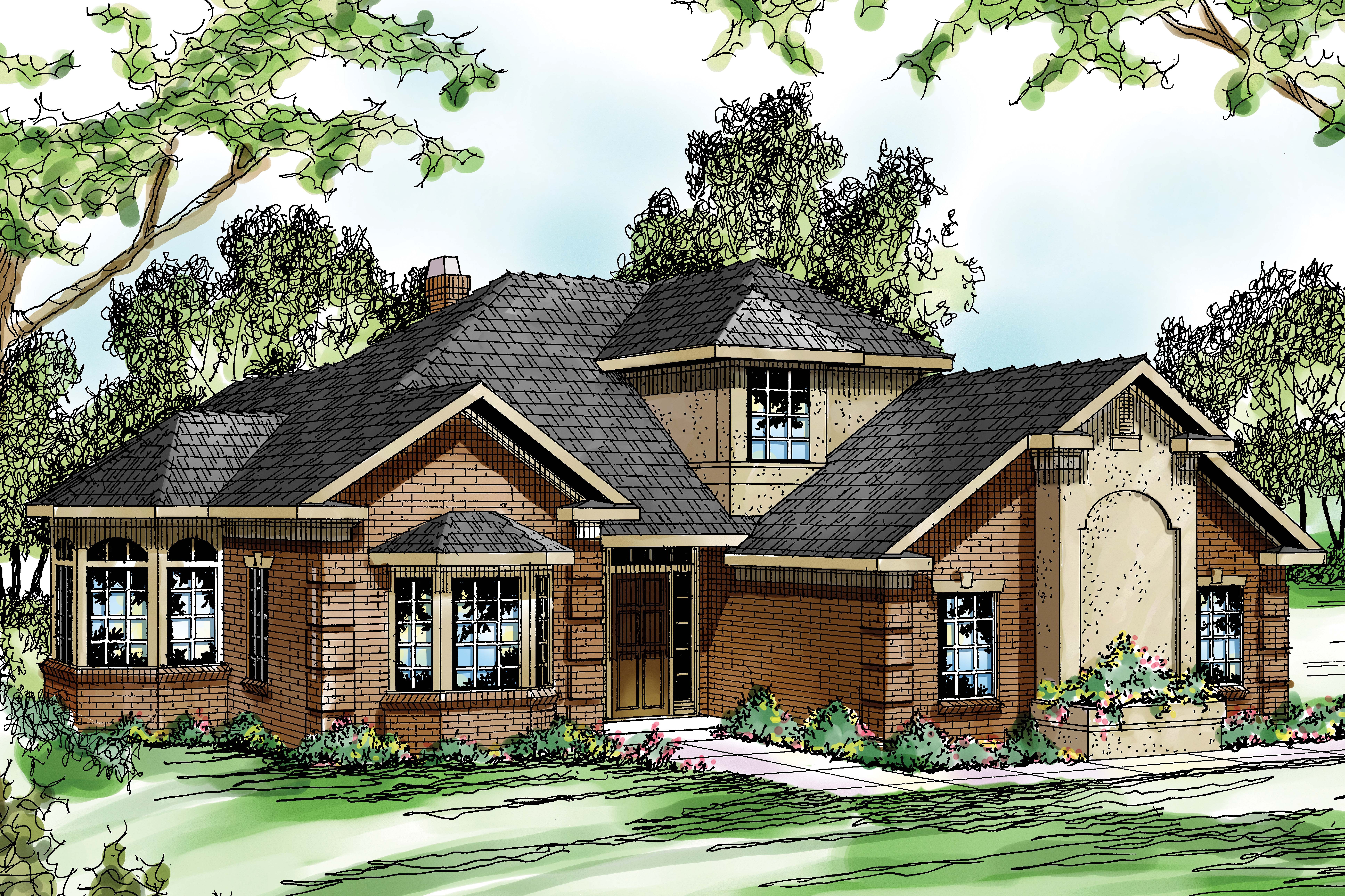 Traditional house plans wichita 10 254 associated designs - Traditional home plans and designs ...