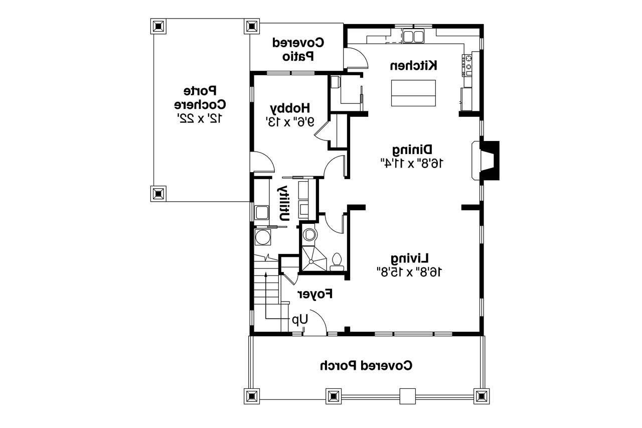 Two Story Craftsman House Plans Bungalow House Plans Blue River 30 789 Associated Designs