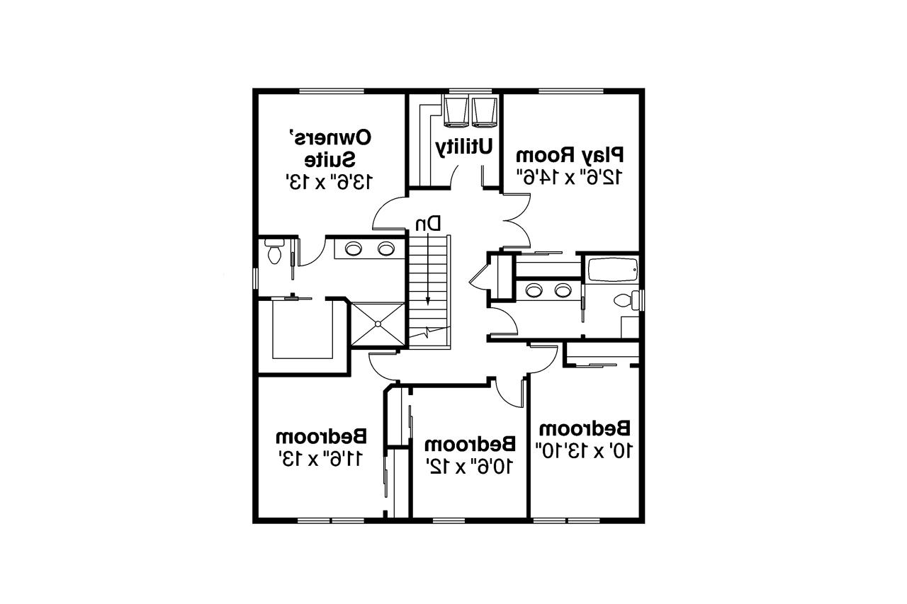 30968 on Narrow Lot House Designs Floor Plans