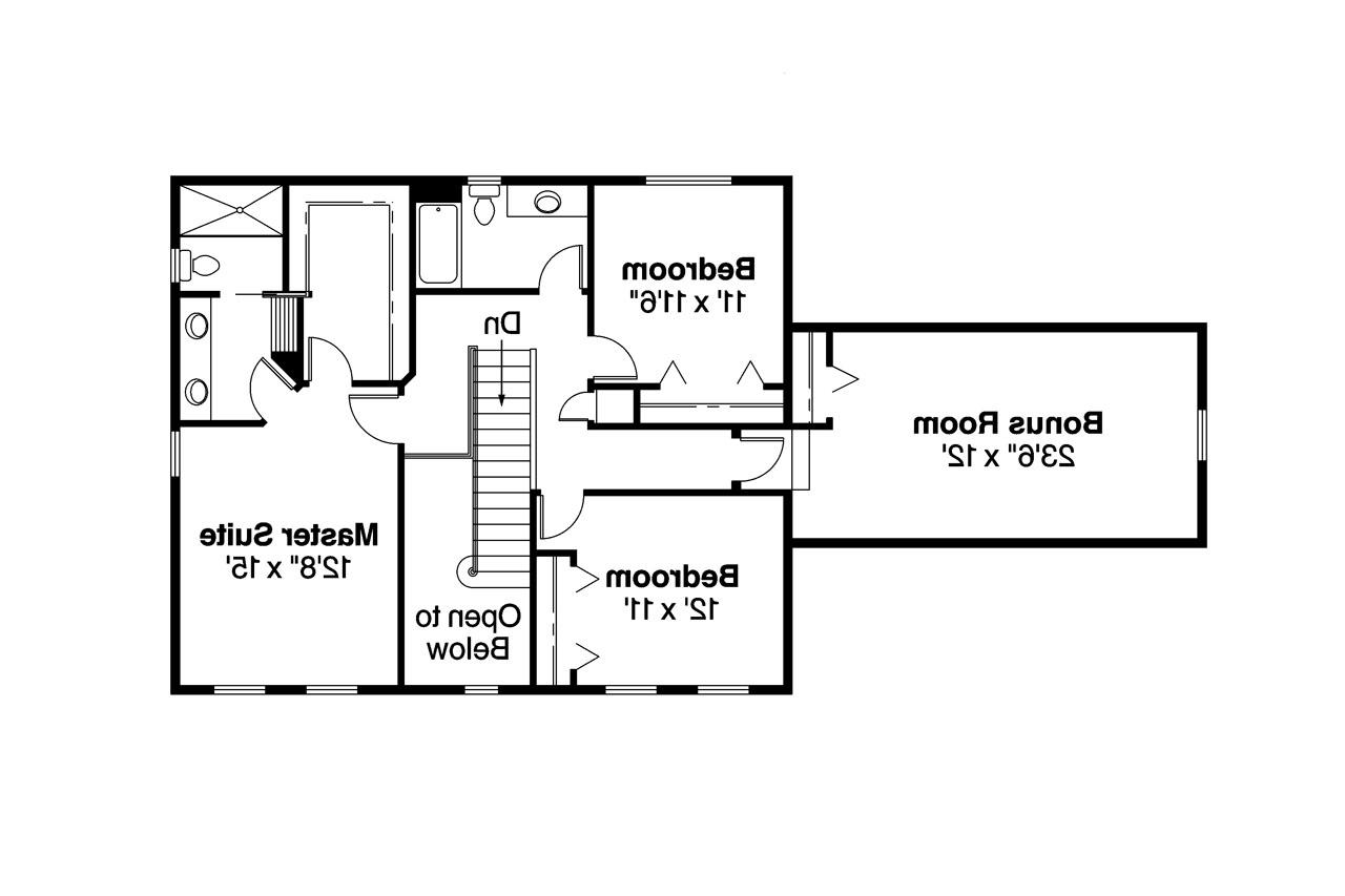 30222 on traditional colonial floor plans