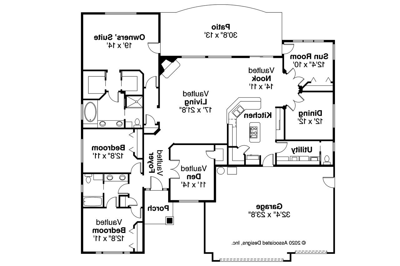 Ranch House Plans - Ryland 30-336
