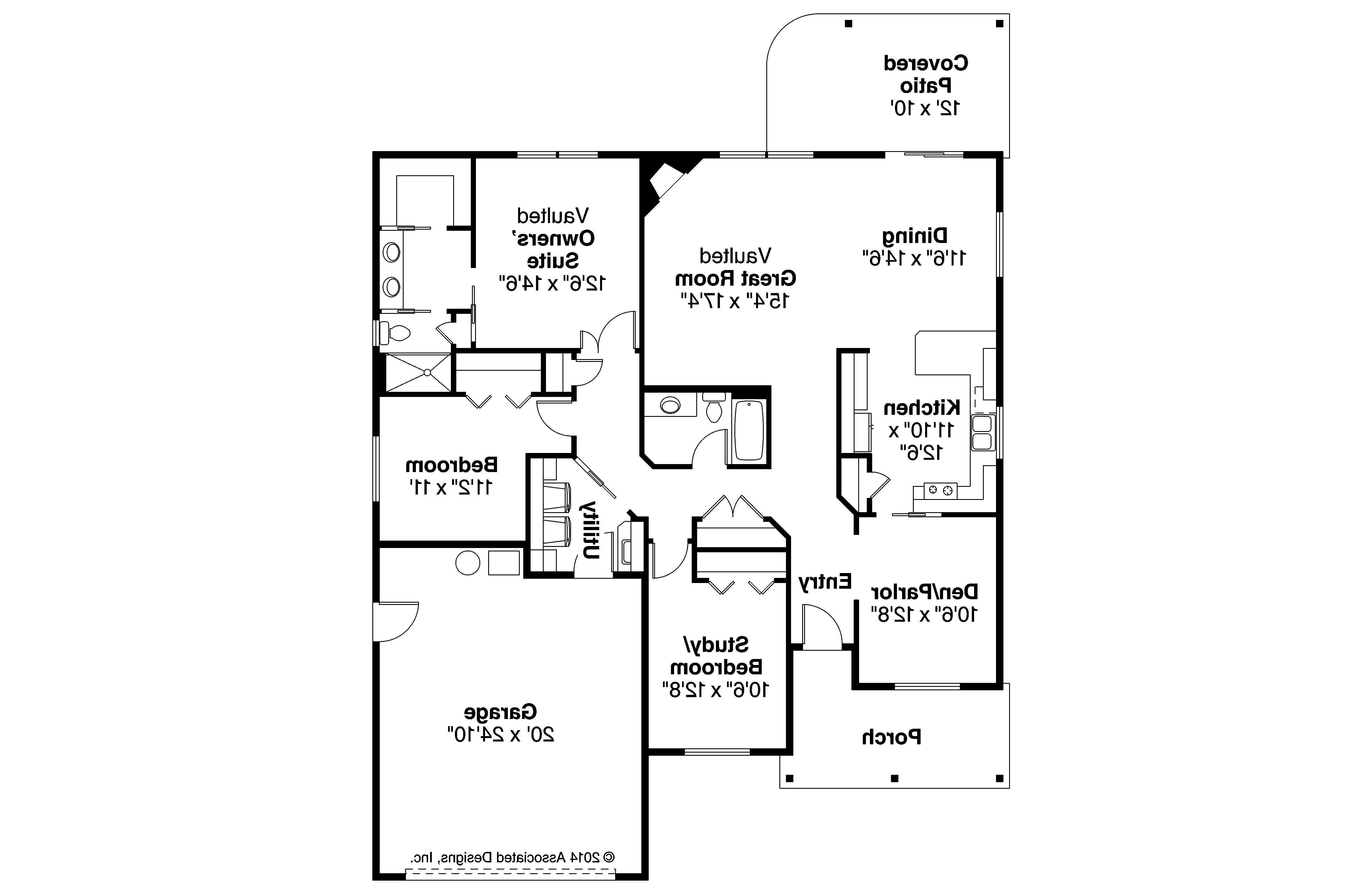 Ranch house plans eastford 30 925 associated designs for House floor plans com