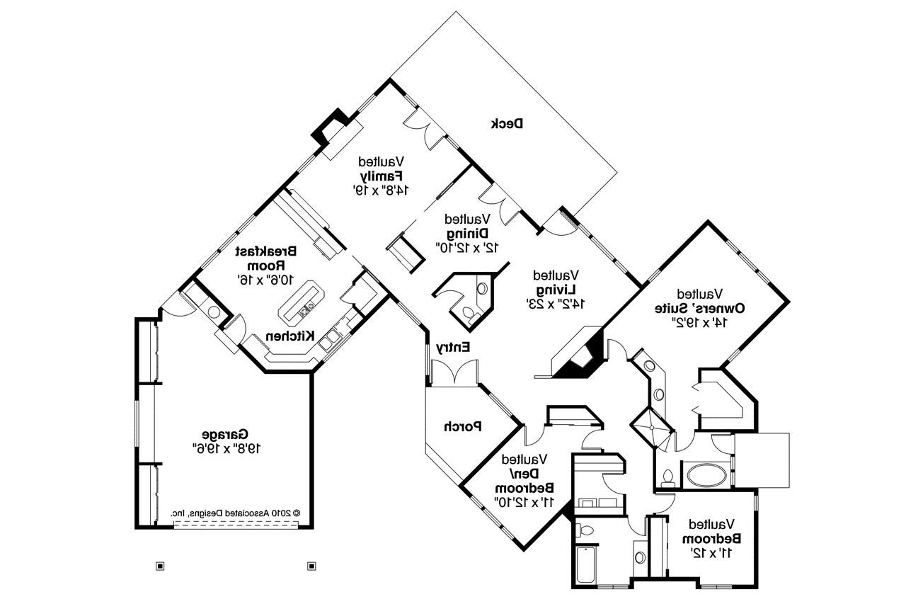 Draw A Houseplan Ranch House Plans Linwood 10 039 Associated Designs