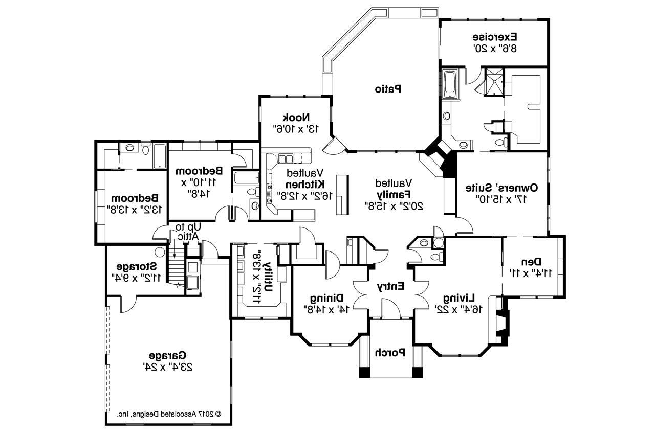 High Quality ... Classic House Plan   Brentwood 30 007   Floor Plan Nice Design