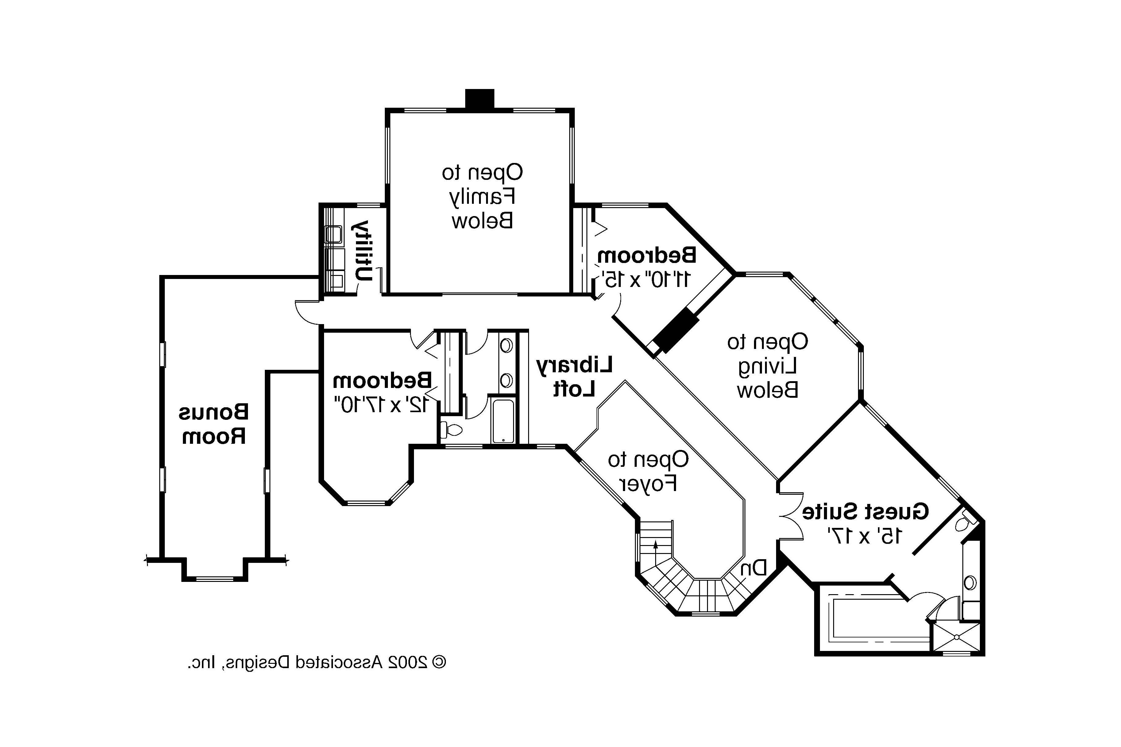 House Plans With Master Suite On Second Floor Thefloors Co