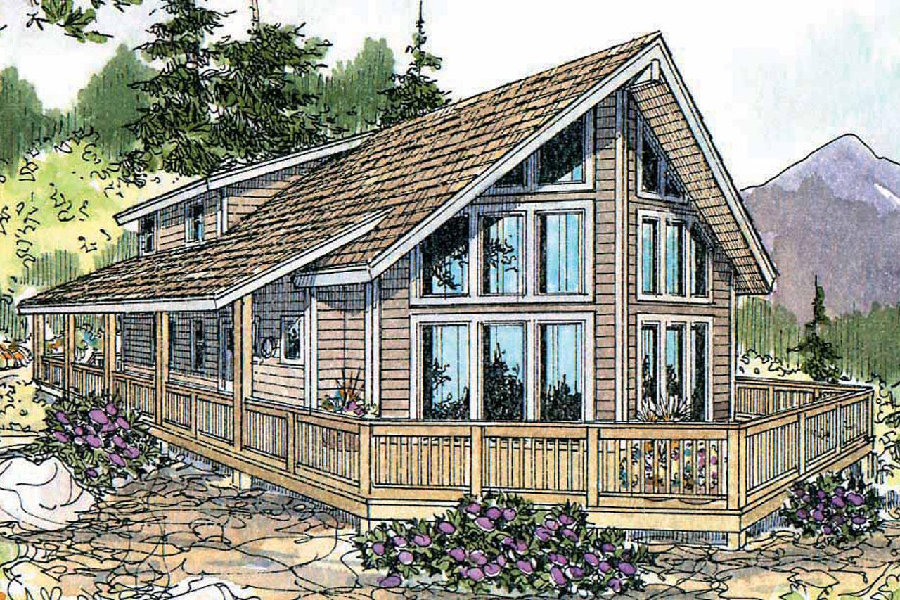 Vacation Cabin Plans A Frame House Plans Gerard 30 288 Associated Designs
