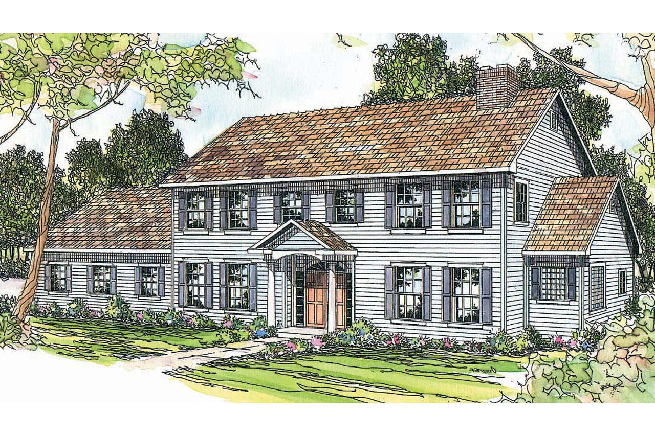 colonial house plan colonial house plans kearney 30 062 associated designs 5611