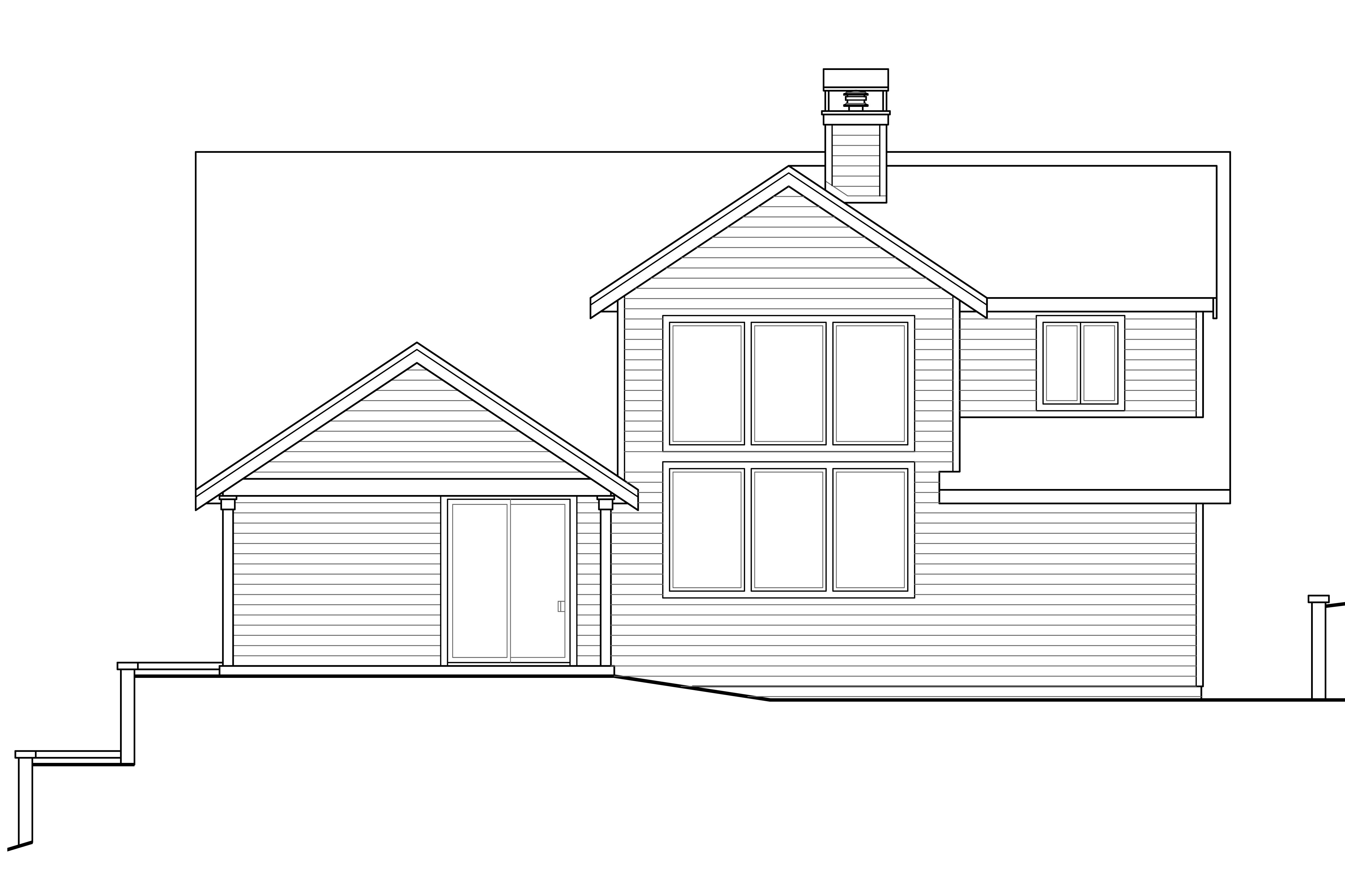 Front Elevation Mirror : Craftsman house plans springvale associated designs