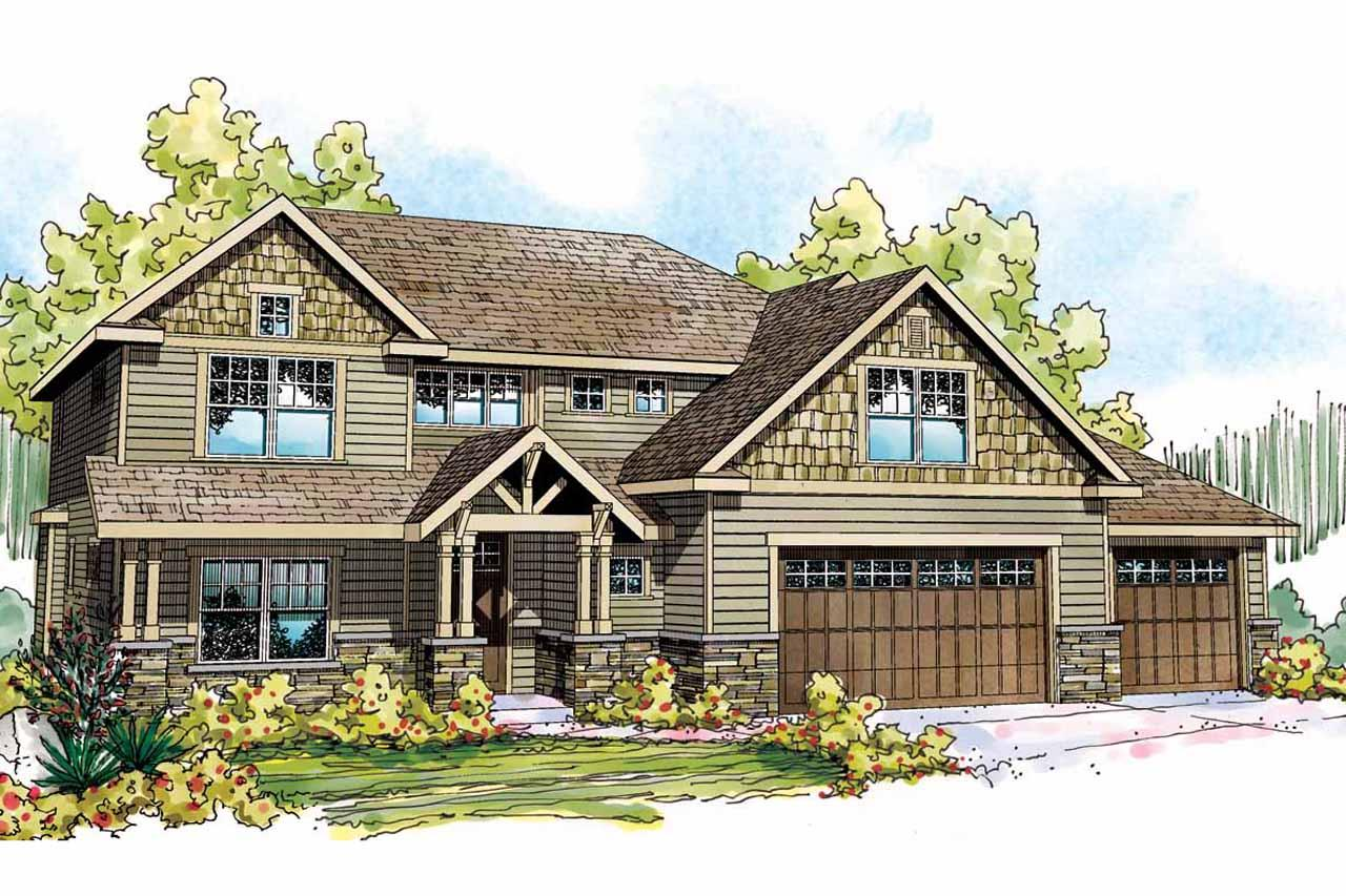 Craftsman house plans oakridge 30 761 associated designs - What is a craftsman home ...