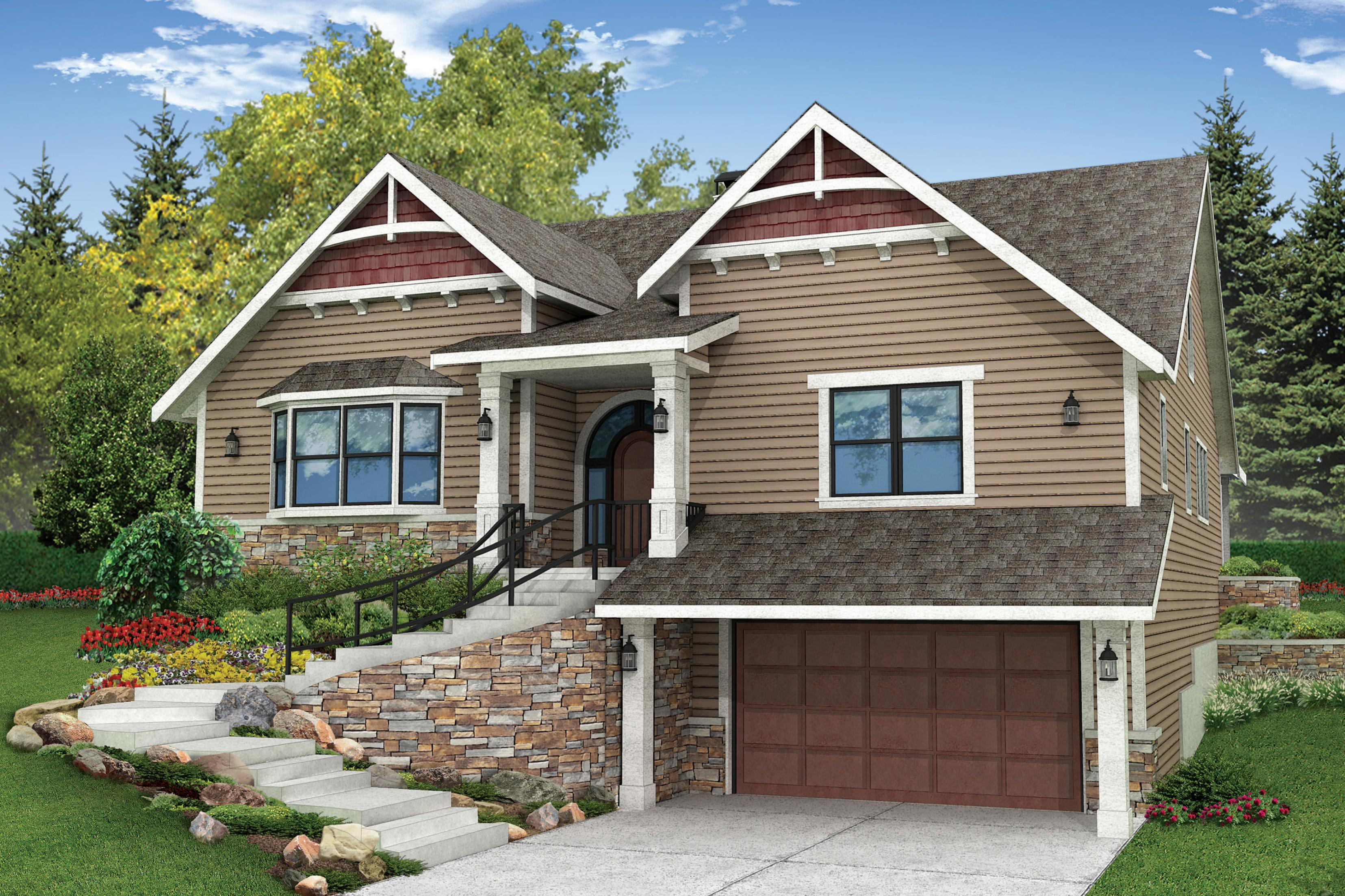 Outfit Your Homes Exterior together with Front Porch Railings Ideas For Small House further Bungalow House Philippines Plan in addition Index further 10 Tips For Designing A Great Deck. on raised ranch homes house plans