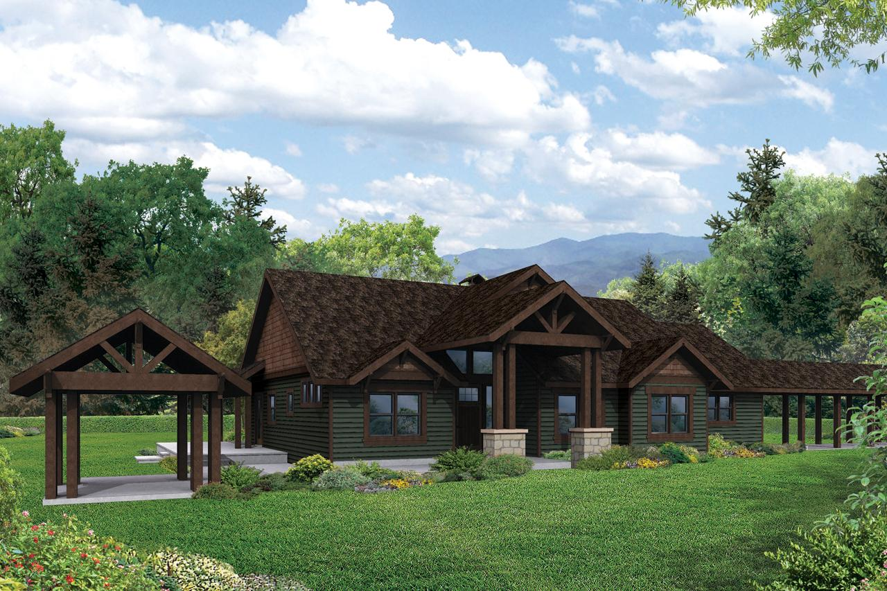 Tiny Home Designs: Lodge Style House Plans