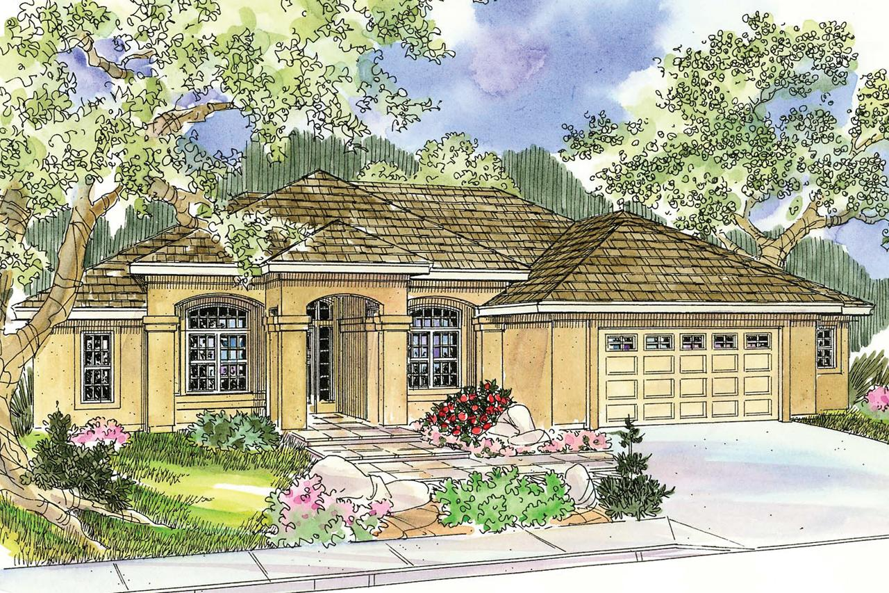 Mediterranean House Plans Mendocino 30 681 Associated