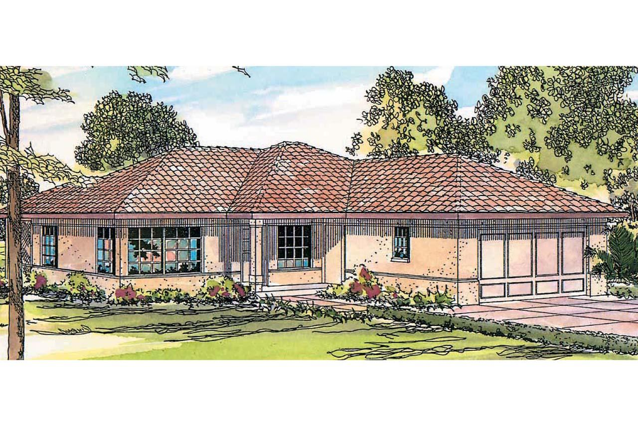 mediteranean house plans single story mediterranean home plans 14144