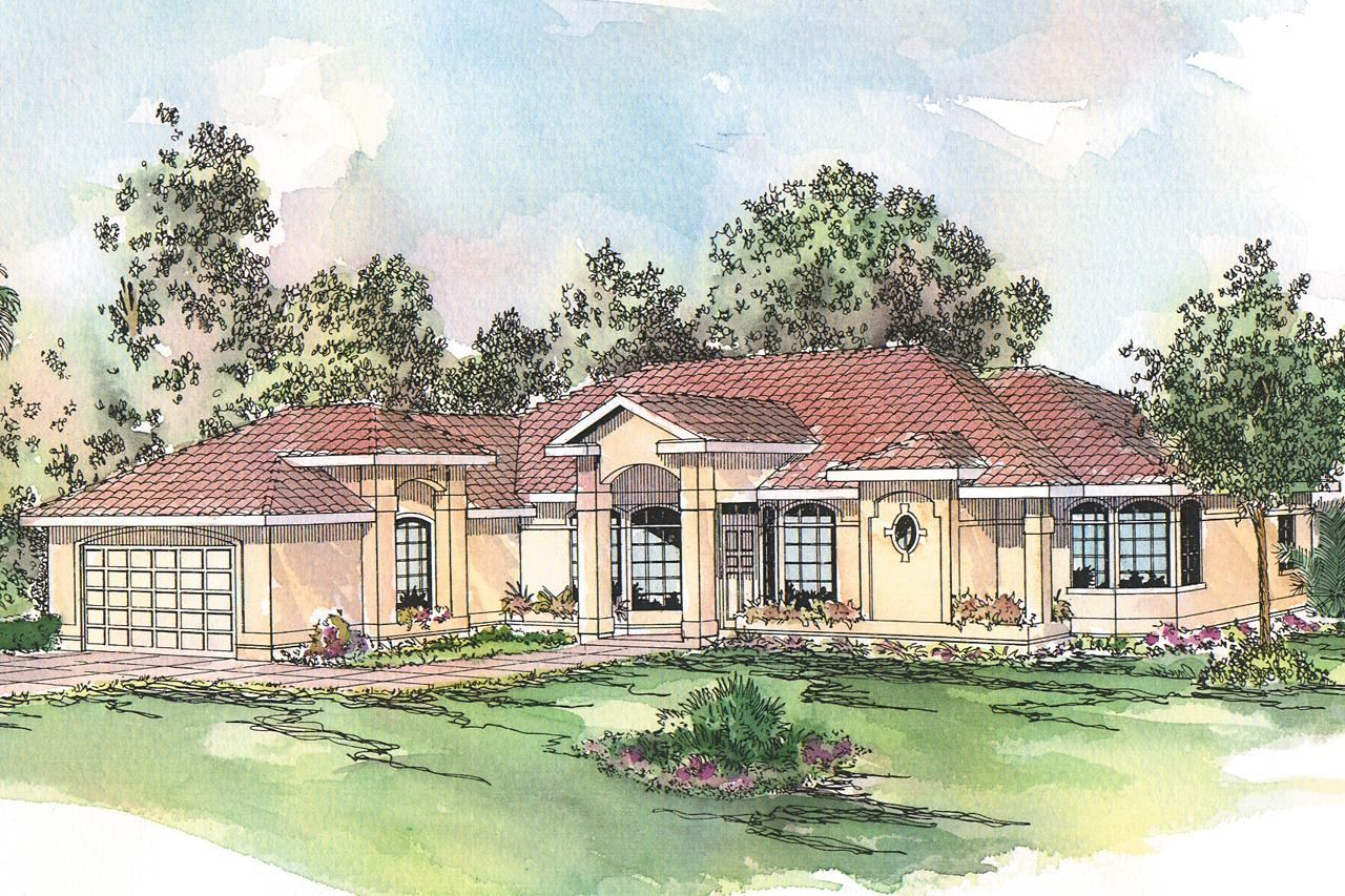 spanish style homes plans spanish style house plans richmond 11 048 associated designs 9667