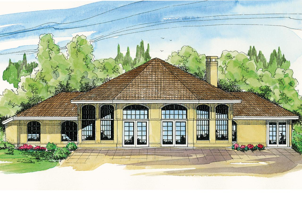 Associated Designs: Spanish Style House Plans