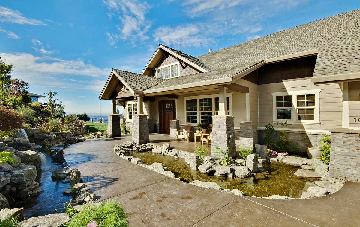 Pacifica 30-683 - Craftsman Home Plan - Luxury House Plan