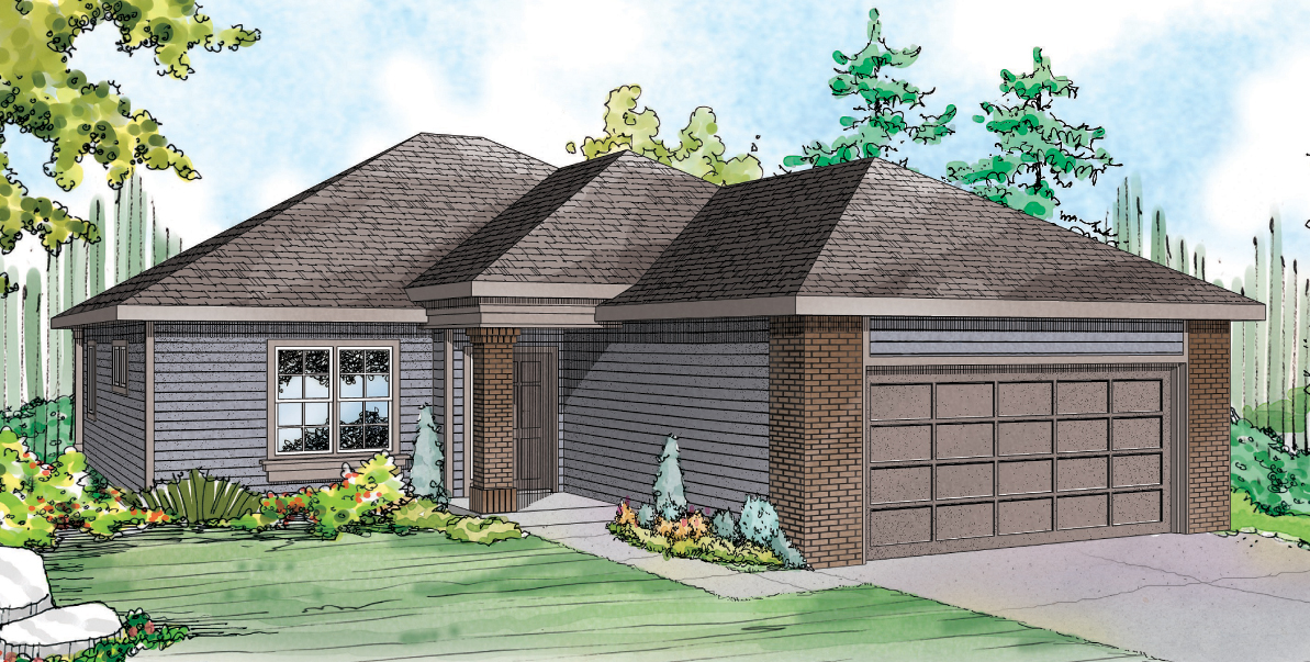 Alden 30-904, Traditional House Plan, Small Home Plan