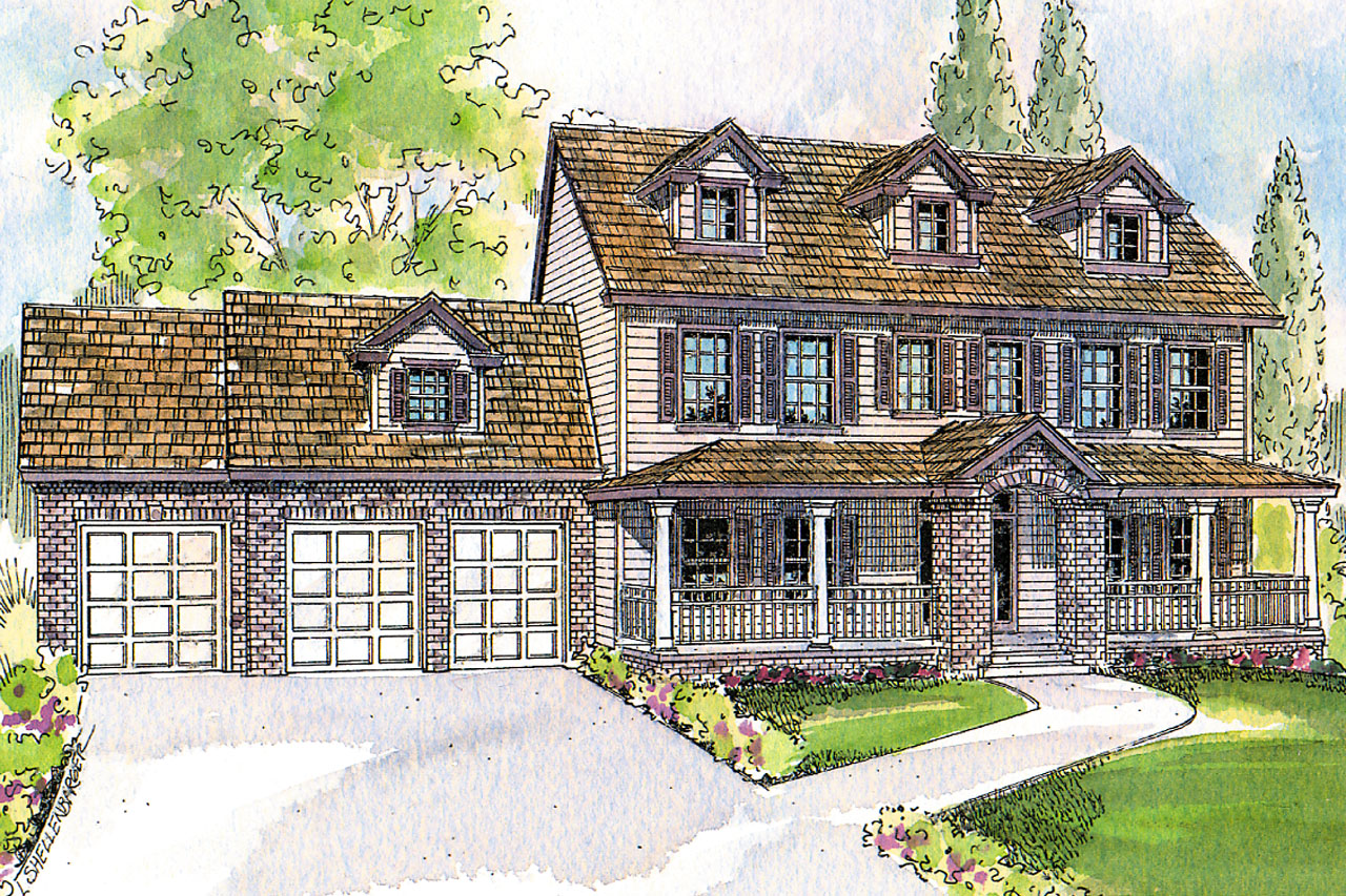 Country Style House Floor Plans Colonial House Plans Hanson 30 394 Associated Designs