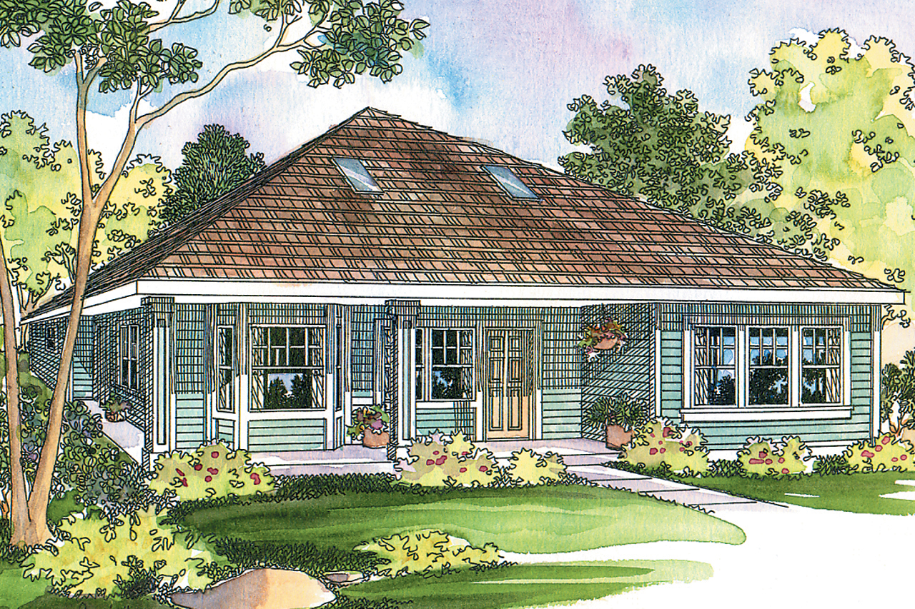 Cottage house plans lincoln 30 203 associated designs - What is a bungalow house ...