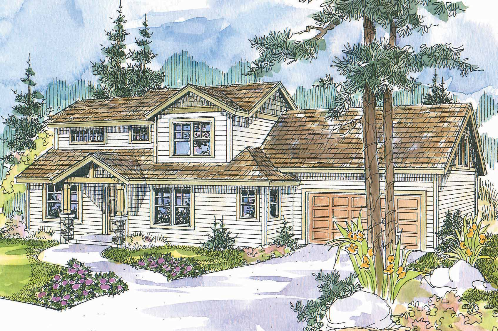Featured House Plan of the Week, Cottage Home Plan, Country House Plan, Stapleton 30-478