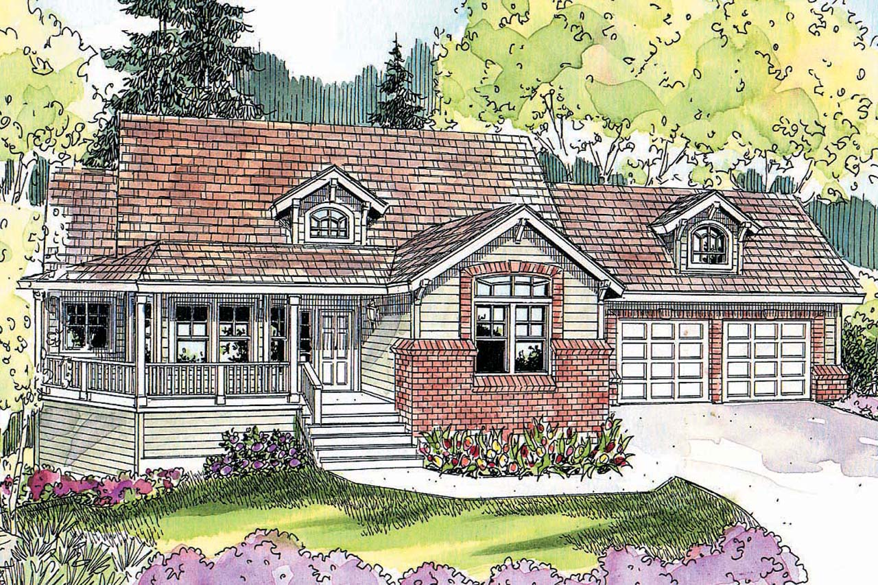 Country House Plan, Home Plan, Featured House Plan of the Week, Cumberland 30-606