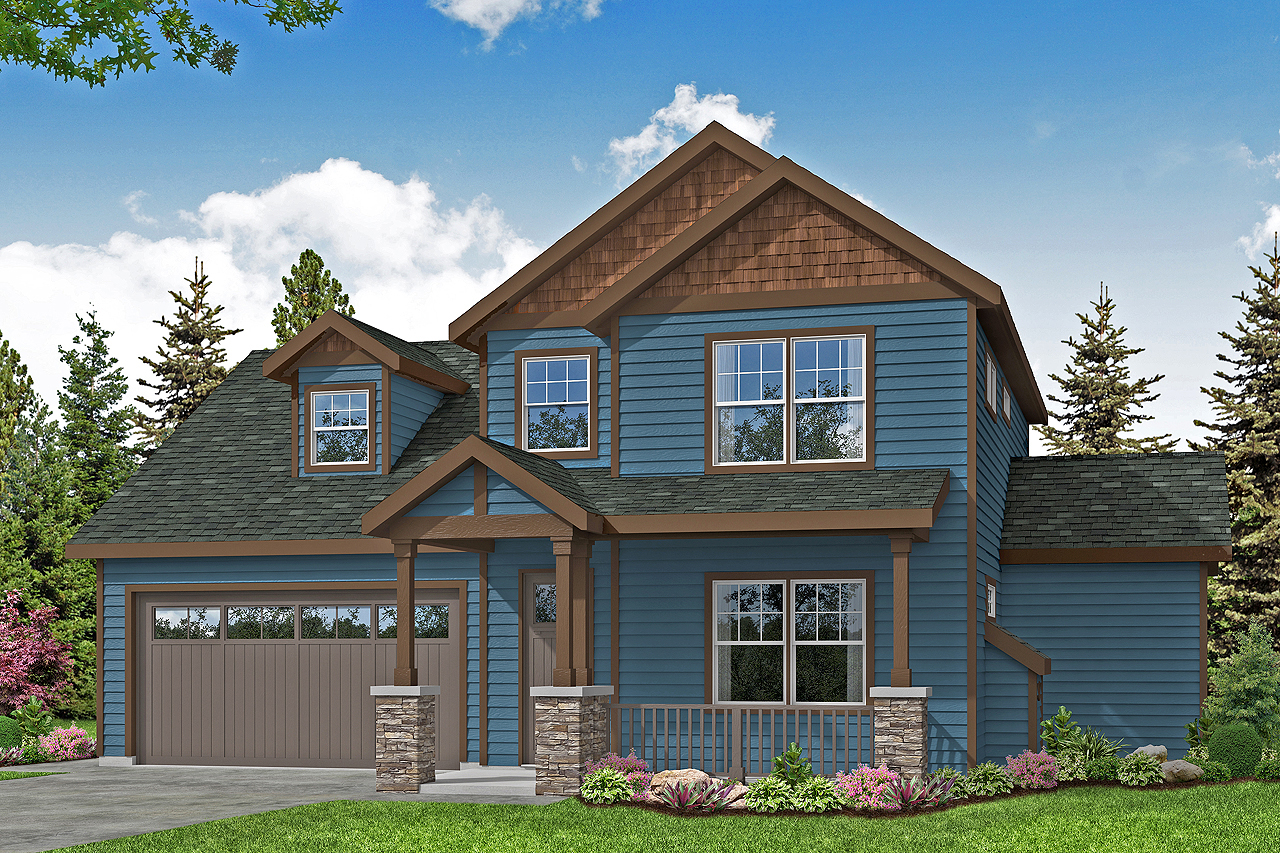Country House Plan - Kokanee 31-202 - Front Elevation
