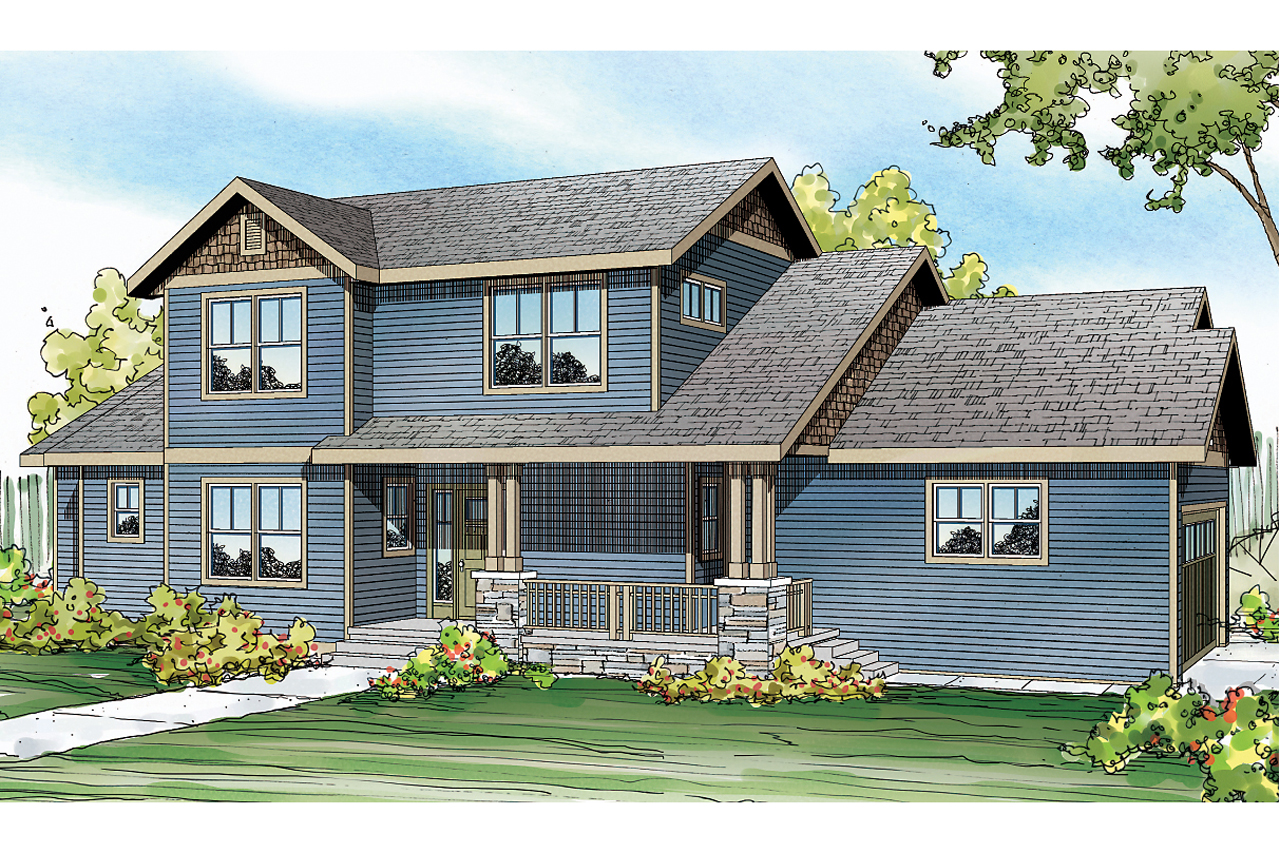 Country House Plans - Ontario 30-830 - Associated Designs