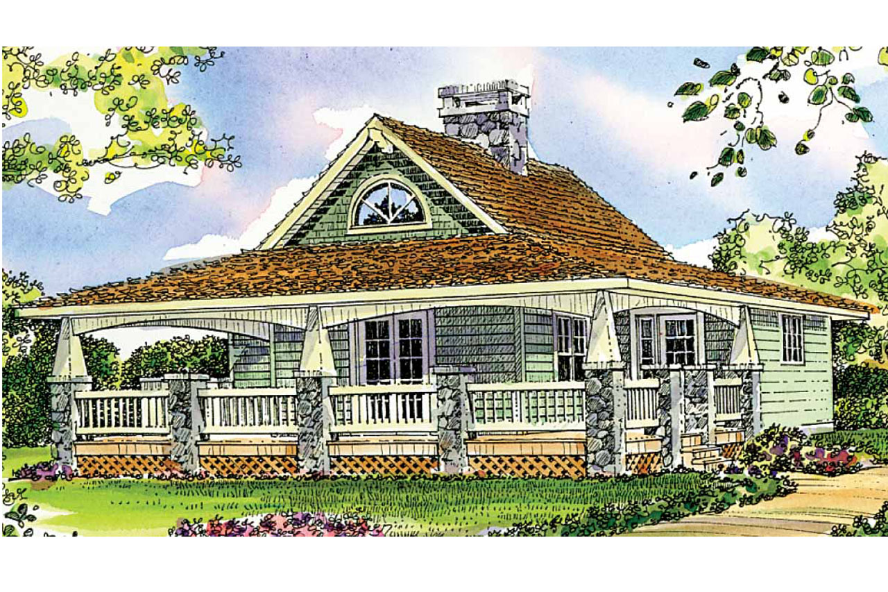 Modern Open Kitchen Design Craftsman House Plans Fenwick 41 012 Associated Designs