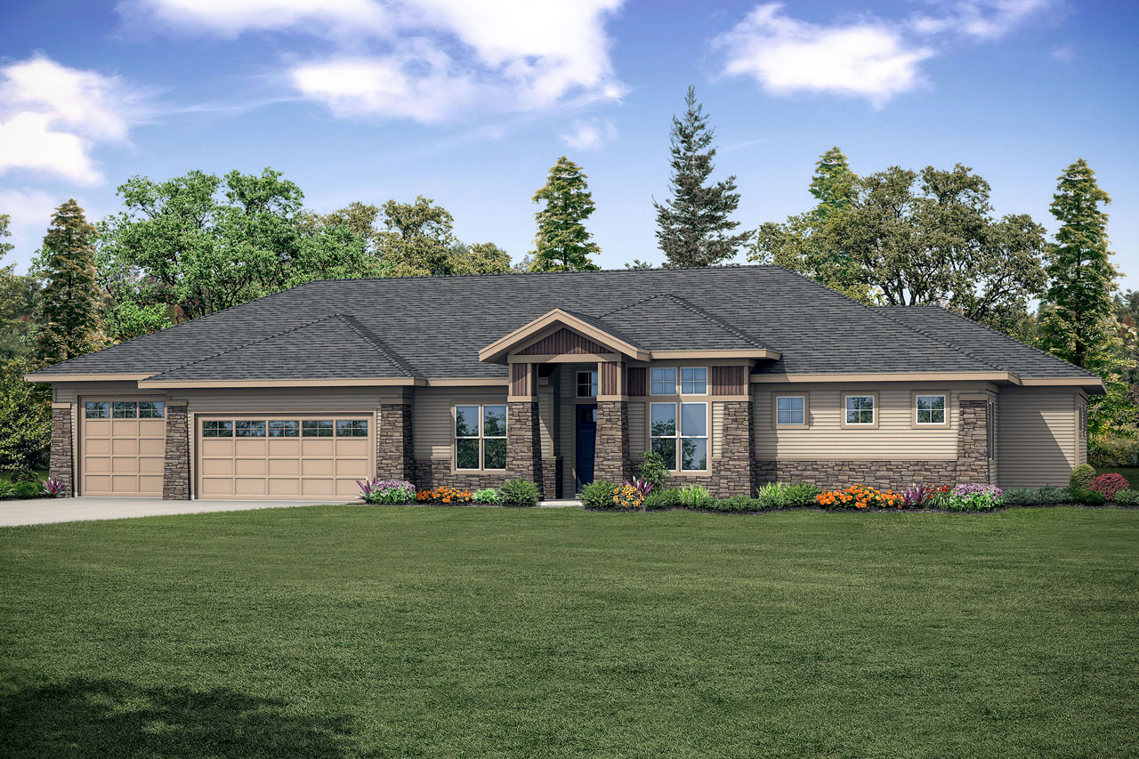 Home from the Heart, New House Plan, Craftsman Home Plan, Heartlodge 10-640
