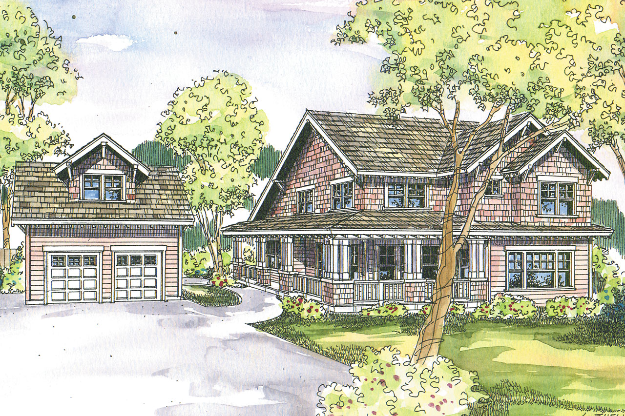 Home Design: Craftsman House Plans