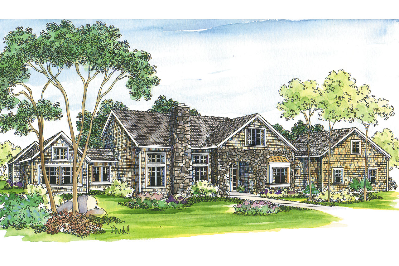 Featured House Plan of the Week, European Home Plan, Brelsford 30-202