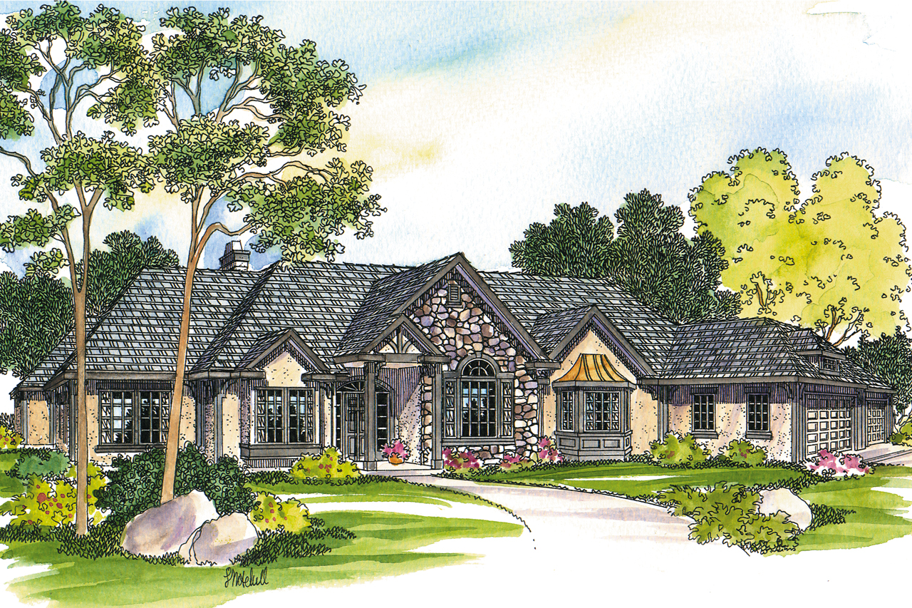 European House Plans Macon 30229 Associated Designs - Craftsman House Plans Goldendale 30540 Associated Designs