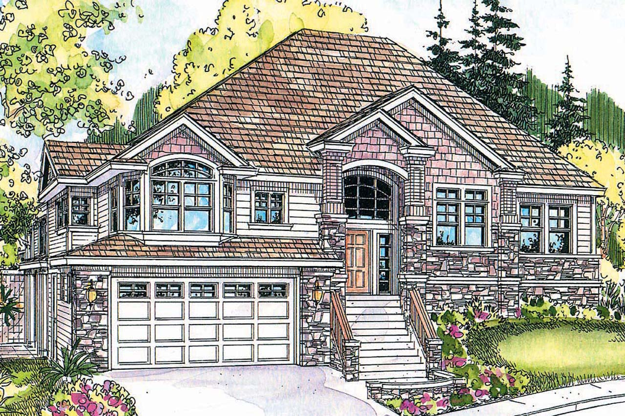 European House Plan - Pennington 30-602 - Front Elevation