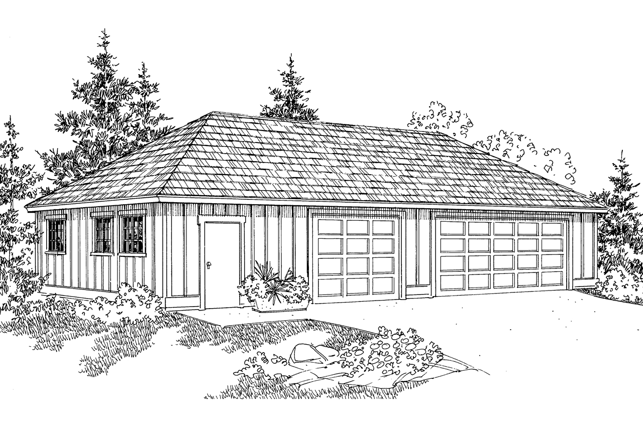 Traditional house plans garage w shop 20 050 for Design your house