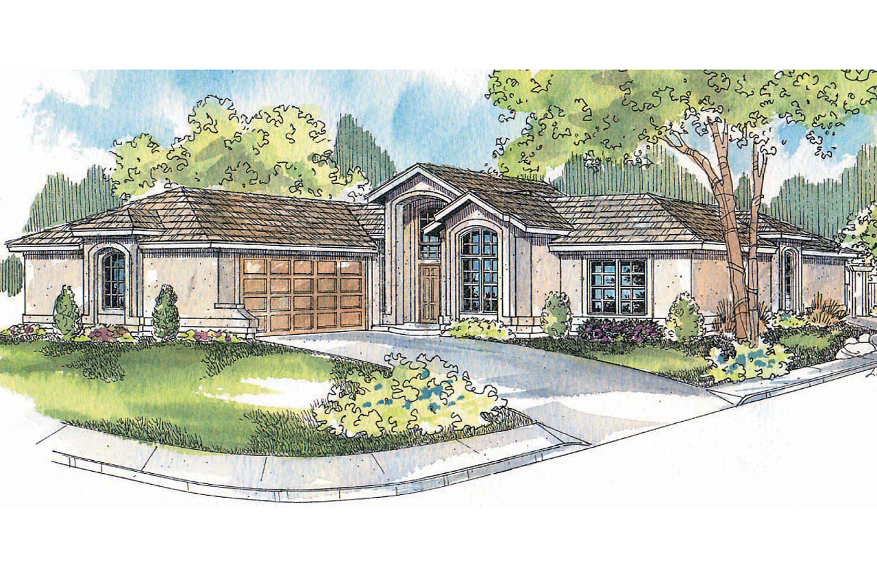 Featured House Plan of the Week, Mediterranean Home Plan, Jacobsen 30-397