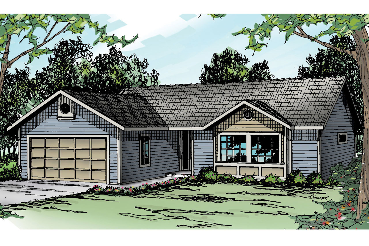 Ranch house plans burnett 30 061 associated designs - What is a ranch house ...