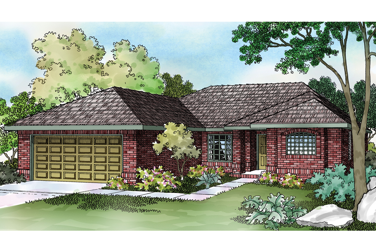 Featured House Plan of the Week, Ranch Home Plan, Lamar 11-106