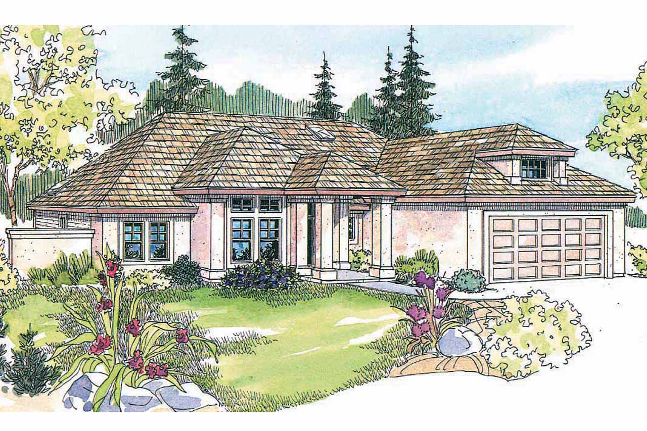 Ranch House Plan, Home Plan, Featured House Plan of the Week, Lindgren 11-122