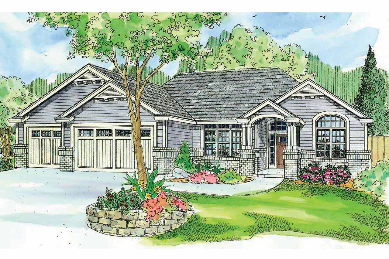 One Story House Plans With Pictures Ranch House Plans Windsor 30 678 Associated Designs
