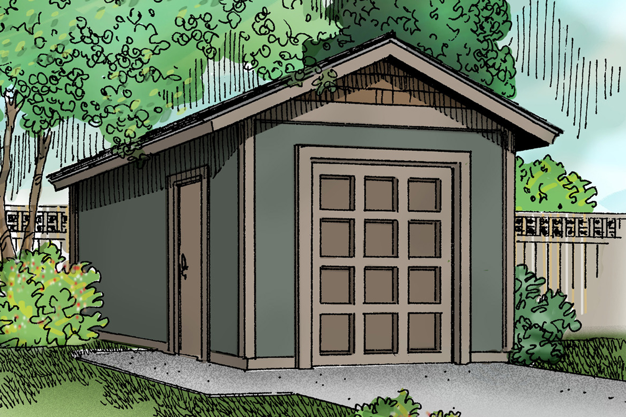 Traditional House Plans Storage Shed 20 041 Associated