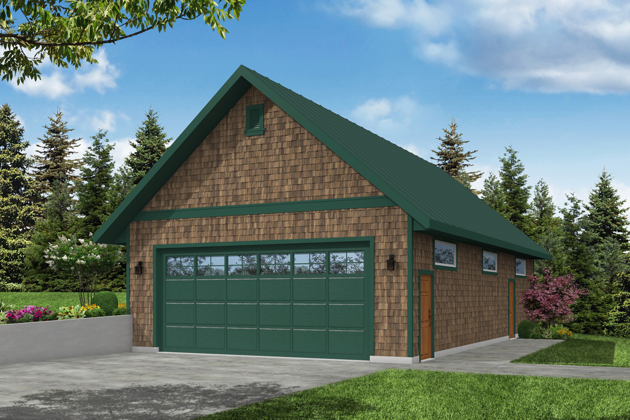Garage Plan 20-156 - Front Elevation