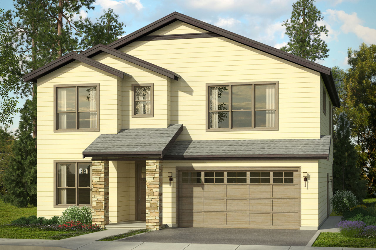 Traditional house plans bridgeview 31 015 associated - Traditional home plans and designs ...