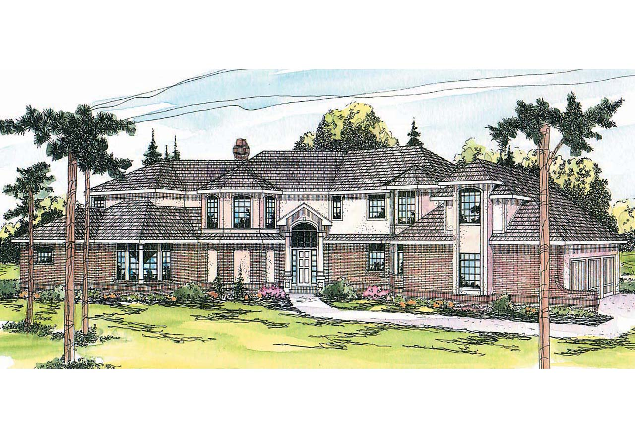 Tudor House Plan   Cheshire 10 055   Front Elevation